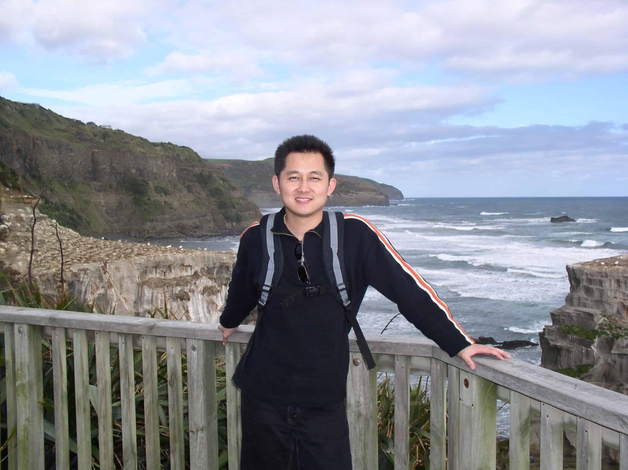 @ NZ Muriwai Beach